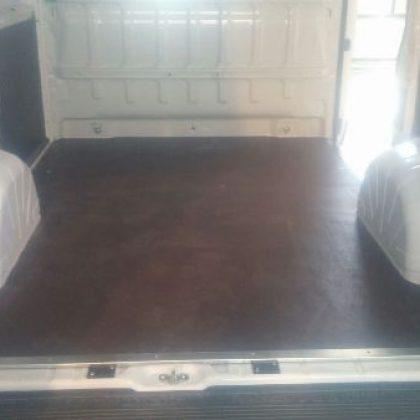 זיווד רכב : רצפת דיקט בירצ' לרכב 185