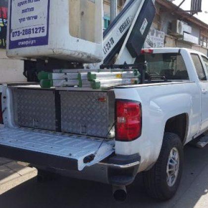 מגירות לרכב, ארגז כלים ומתקן לסולם 122