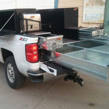 מגירות לרכב, מיכל מים וארגזי כלים צדדיים לטנדר 278
