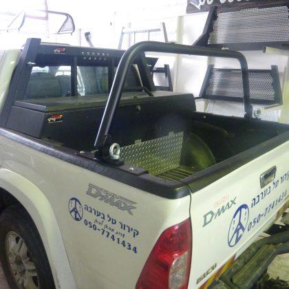 קשת לרכב קדמית קבועה, קשת אחורית מתקפלת וארגז כלים לרכב 54
