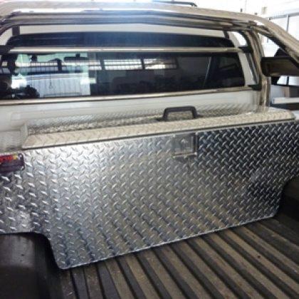 ארגז כלים אלומיניום לרכב 266