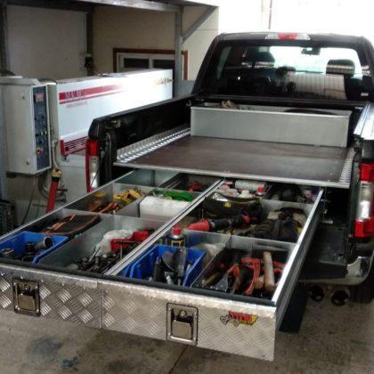 מגירות לרכב וארגז כלים לטנדר 305