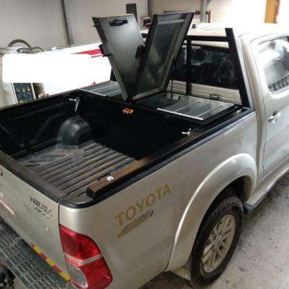 ארגז כלים לטנדר וקשת העמסה לרכב 357