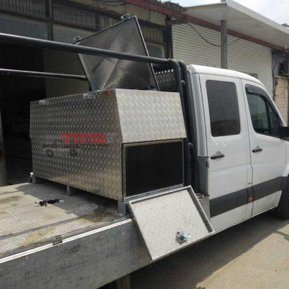 ארגז אלומיניום למשאית 409