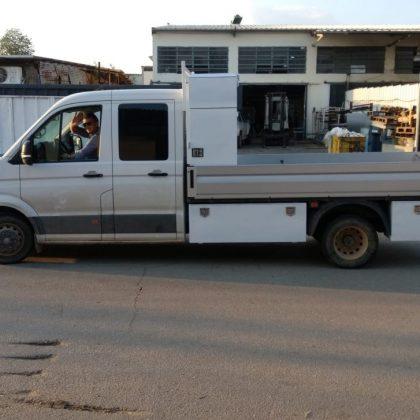 ארגזים למשאית, מגירות ומיכל מים נירוסטה 428