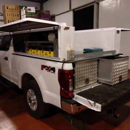 מגירות לרכב, ארגזי כלים ומתקן לסבוניה 446